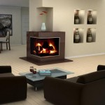 2-Sided Corner Fireplace