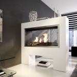 2-Sided Electric Fireplace Insert