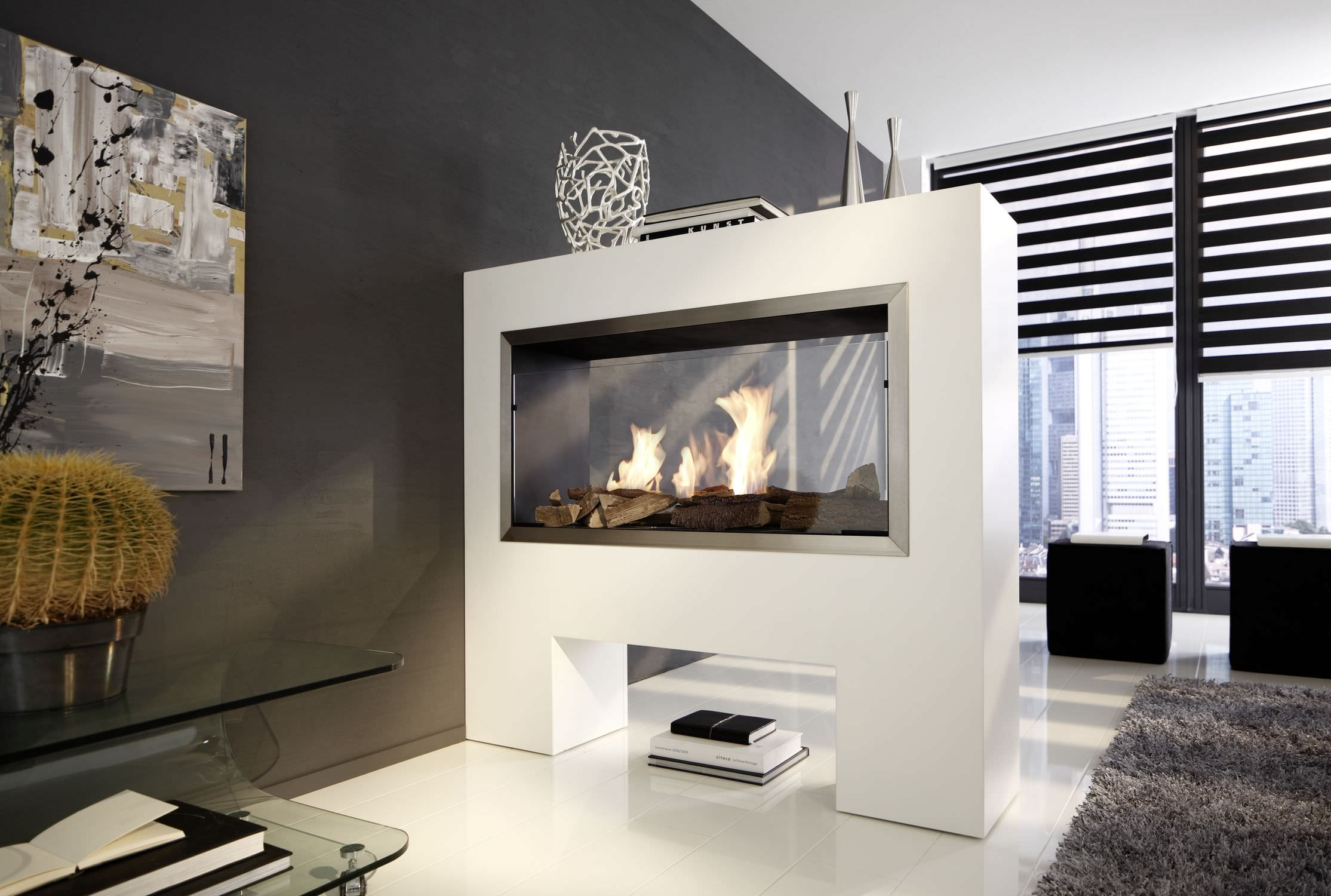 2 sided electric fireplace insert fireplace design ideas - Electric Fireplace Design Ideas