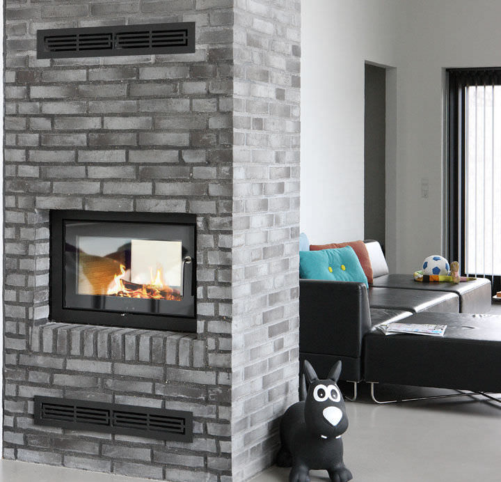 2 Sided Fireplace Insert Fireplace Design Ideas