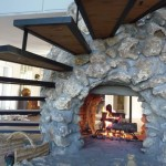 2-Sided Wood Burning Fireplace Insert