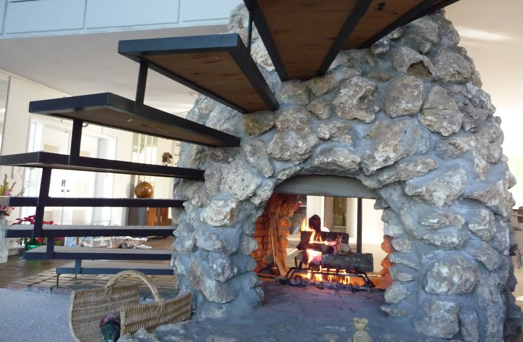 2 Sided Wood Burning Fireplace Insert Design Ideas