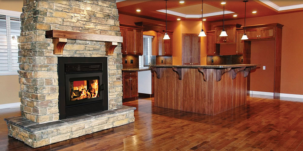 2 Sided Wood Fireplace Fireplace Design Ideas