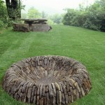 30 in Galvanized Round Fire Pit Ring