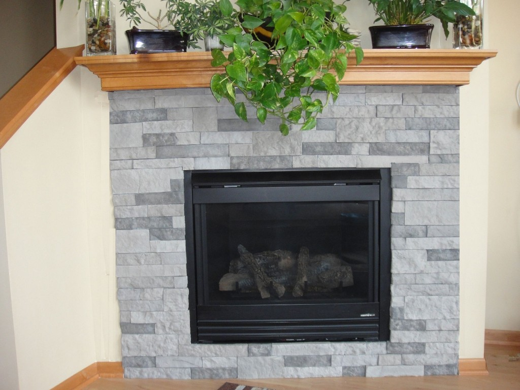 Air Stone Fireplace Pictures