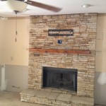 Air Stone Fireplace Surround