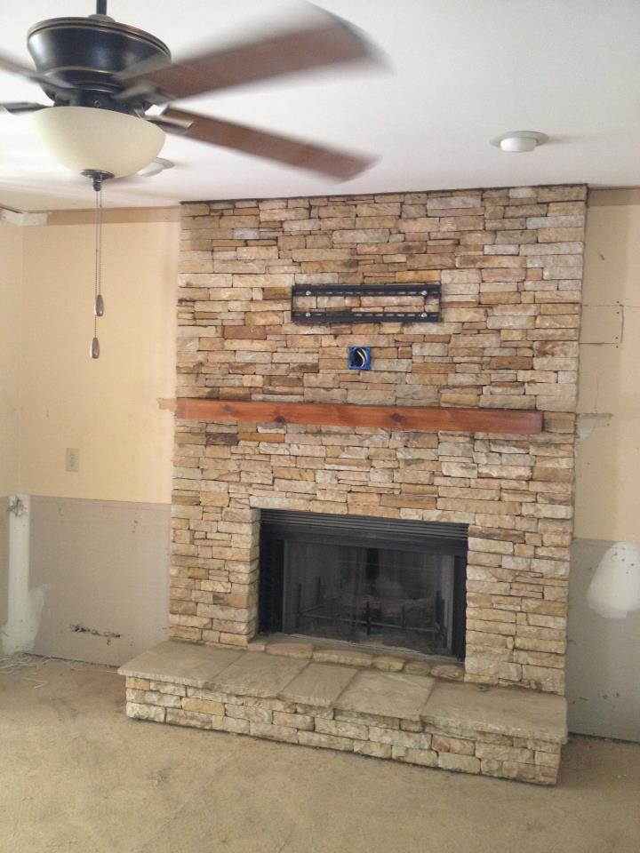 Air Stone Fireplace Surround Fireplace Design Ideas