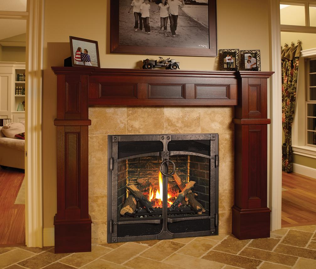 Artificial Fire Insert Fireplace Design Ideas