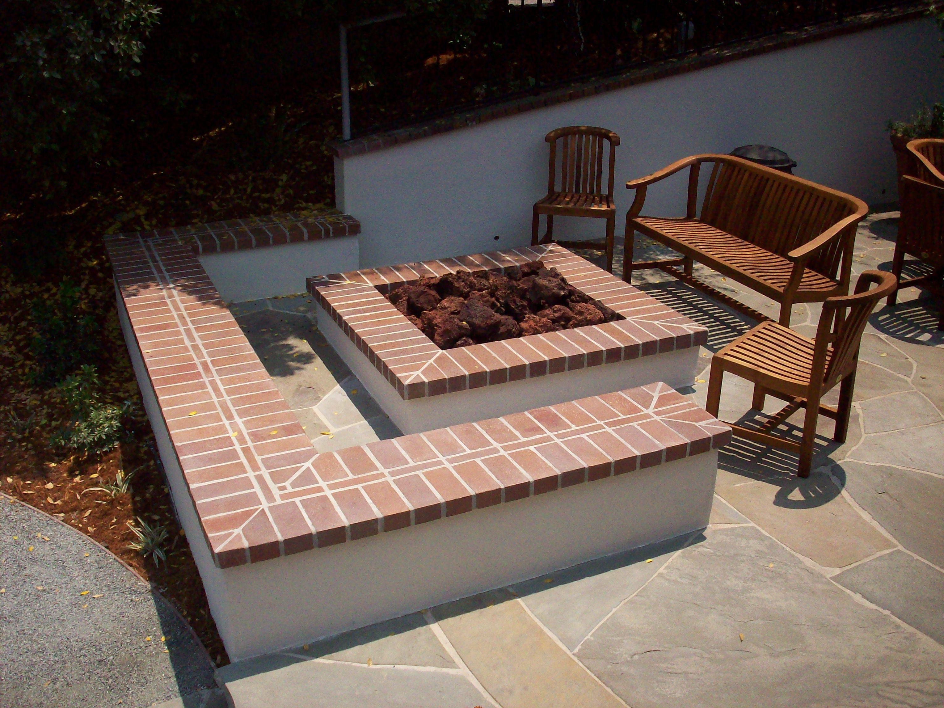 Backyard Brick Fire Pit Ideas