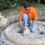Backyard Fire Pit DIY
