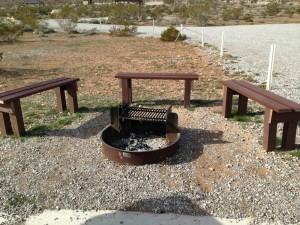 Bench Around Fire Pit