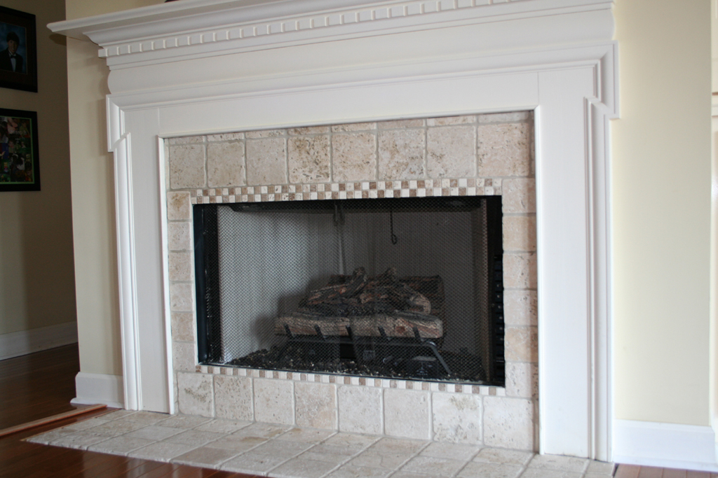 Best Tile for Fireplace Surround