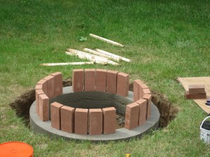 Brick Fire Pit Plans