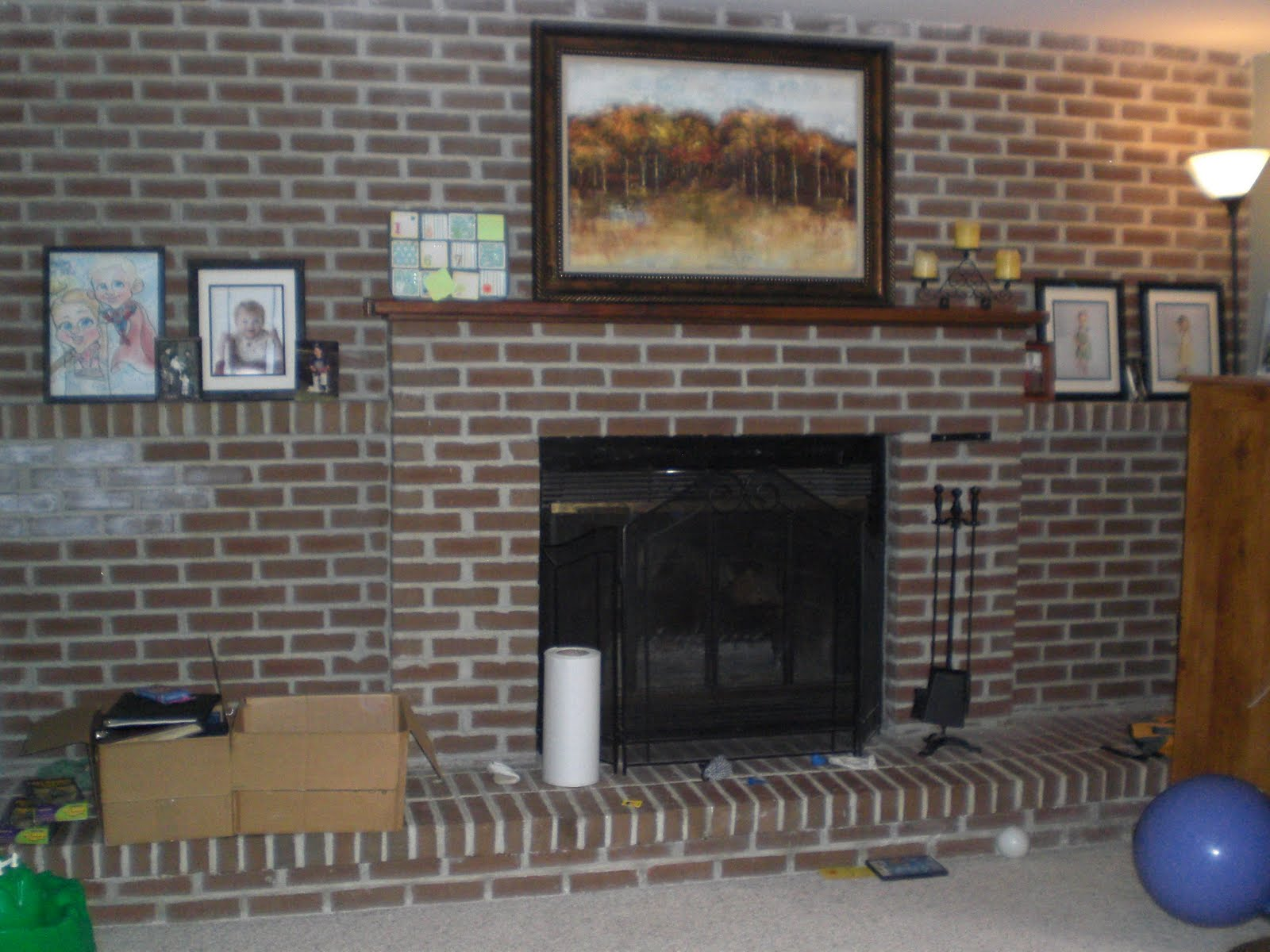 Brick Fireplace Makeover Ideas