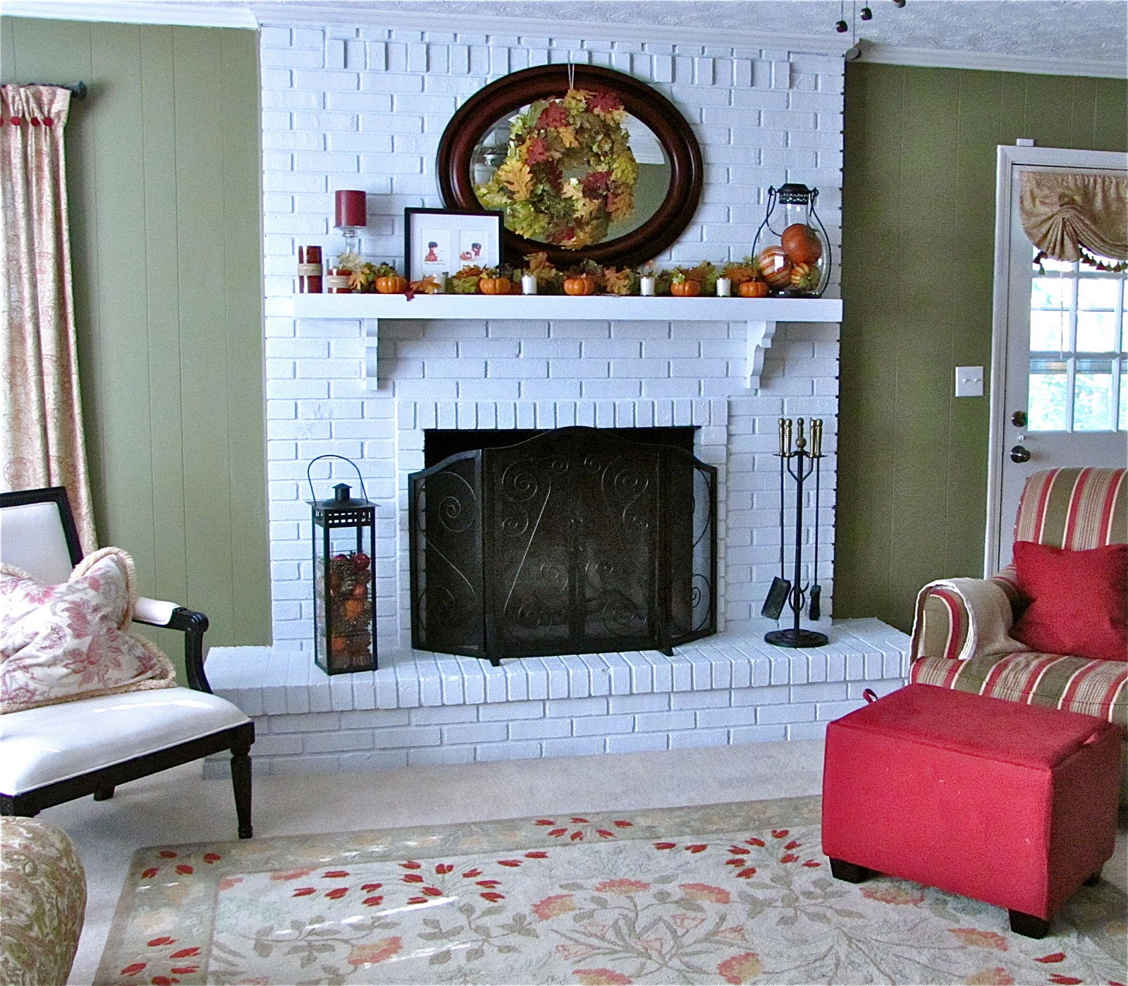 Brick fireplace makeover pictures fireplace design ideas Brick fireplace wall decorating ideas