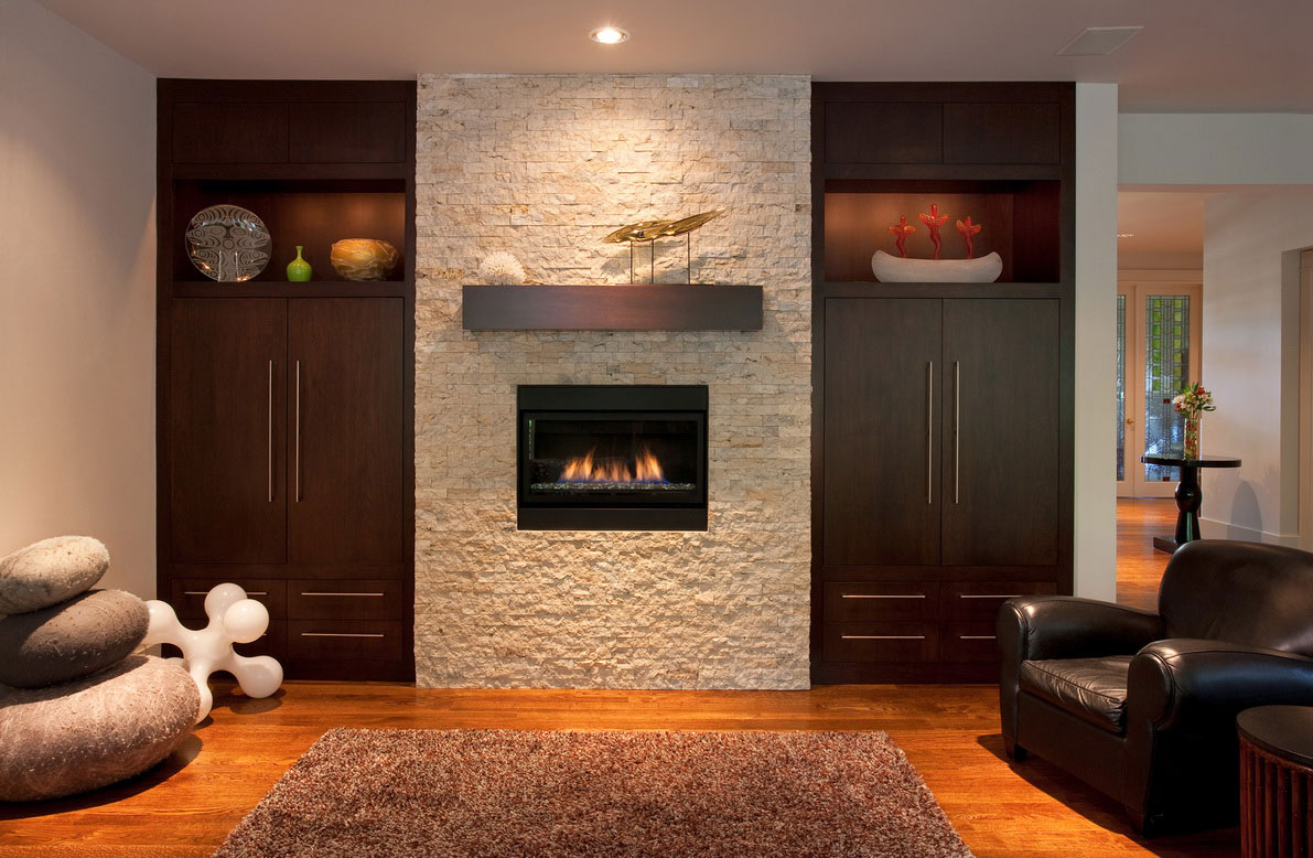 Brick Wall Fireplace Makeover | FIREPLACE DESIGN IDEAS