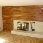 Brick Wall Fireplace Remodel
