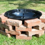 Build Brick Fire Pit Grill