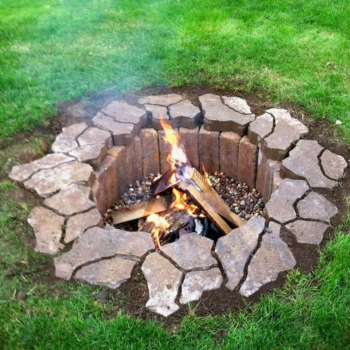 Build Inground Fire Pit