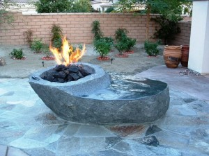 Building a Fire Pit with Rocks