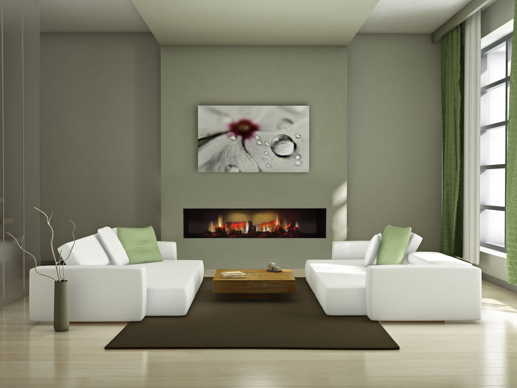 Built in Electric Fireplace Ideas