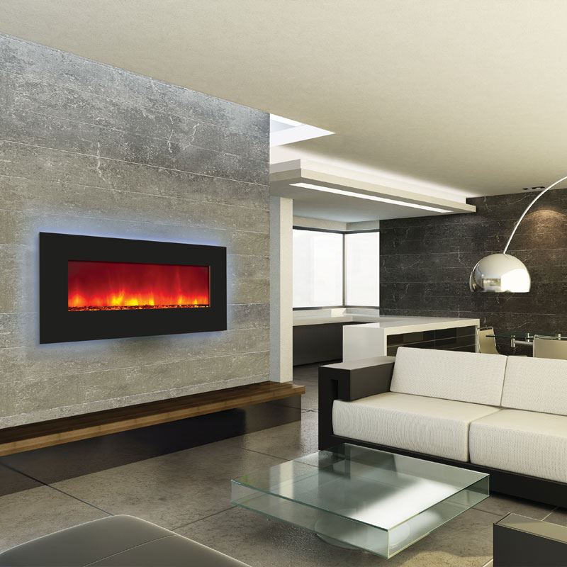 Built In Electric Fireplace Inserts Fireplace Design Ideas