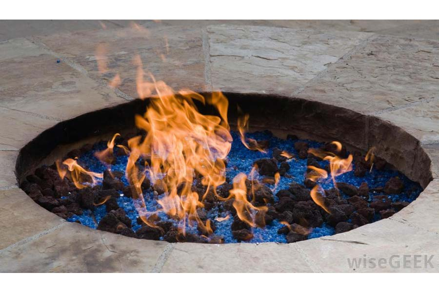 Burning Rocks for Fire Pit