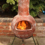 Ceramic Fire Pit Chimney