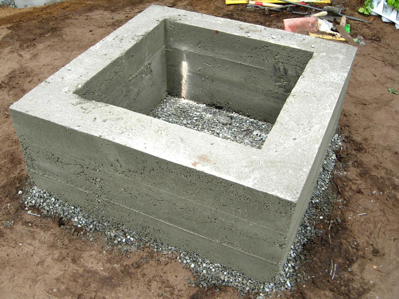 diy pit concrete diy concrete pit a smart idea for a complete