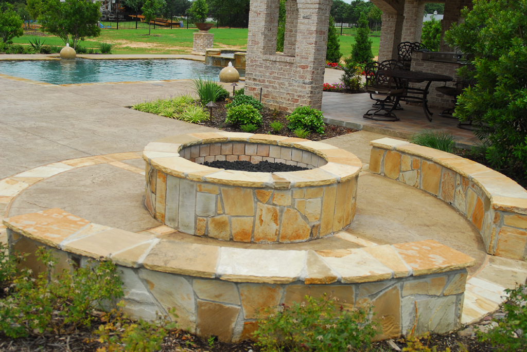 Concrete Fire Pit Molds Fireplace Design Ideas