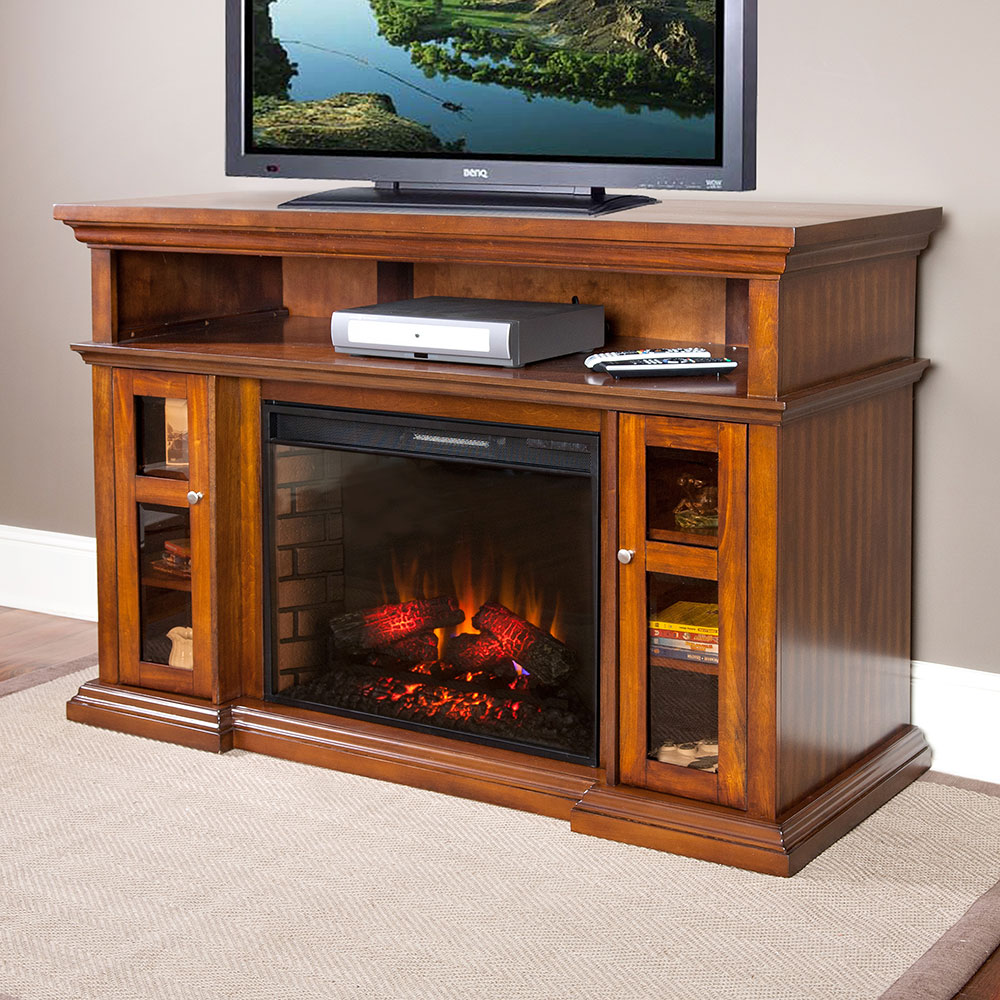 stand fireplace gry accessories cheap electric grey tv cs products consoles in cameron media