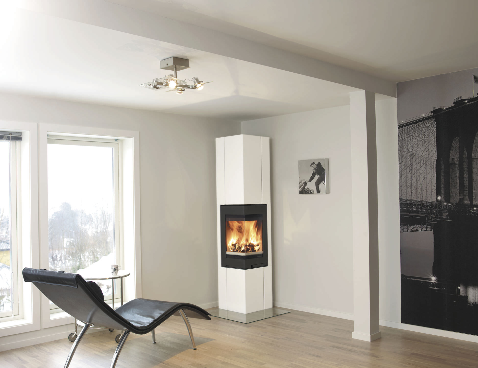 Home Notre Foyer : Contemporary electric fireplaces clearance fireplace