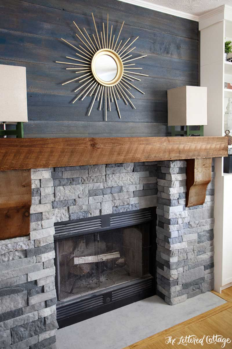 Facts to Note in Brick Fireplace Makeover : Corner Brick Fireplace Makeover. Corner brick fireplace makeover. fireplace ideas