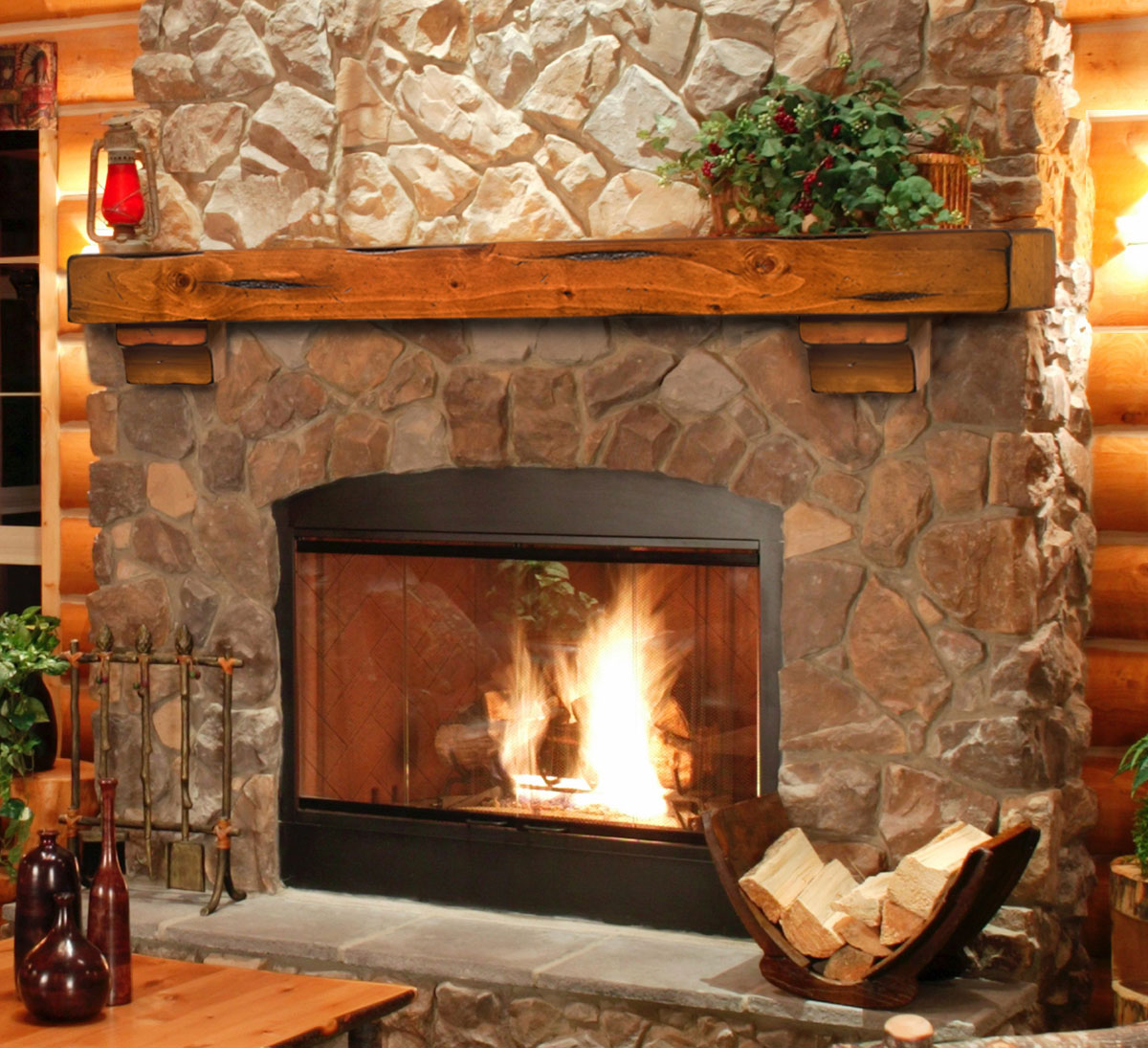 log cabin interior design fireplace design ideas rh bestfireplaceideas com Log Cabin Fireplace Mantels Rustic Log Cabin Fireplaces