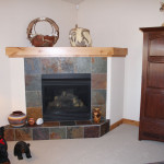 Corner Fireplace Mantels