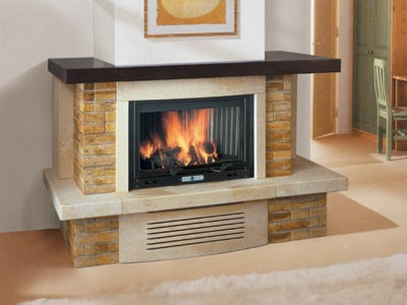 Decorate Your Home With A Corner Fireplace Mantel Fireplace Design Ideas