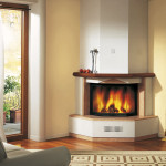 Corner Fireplace Mantels Wood