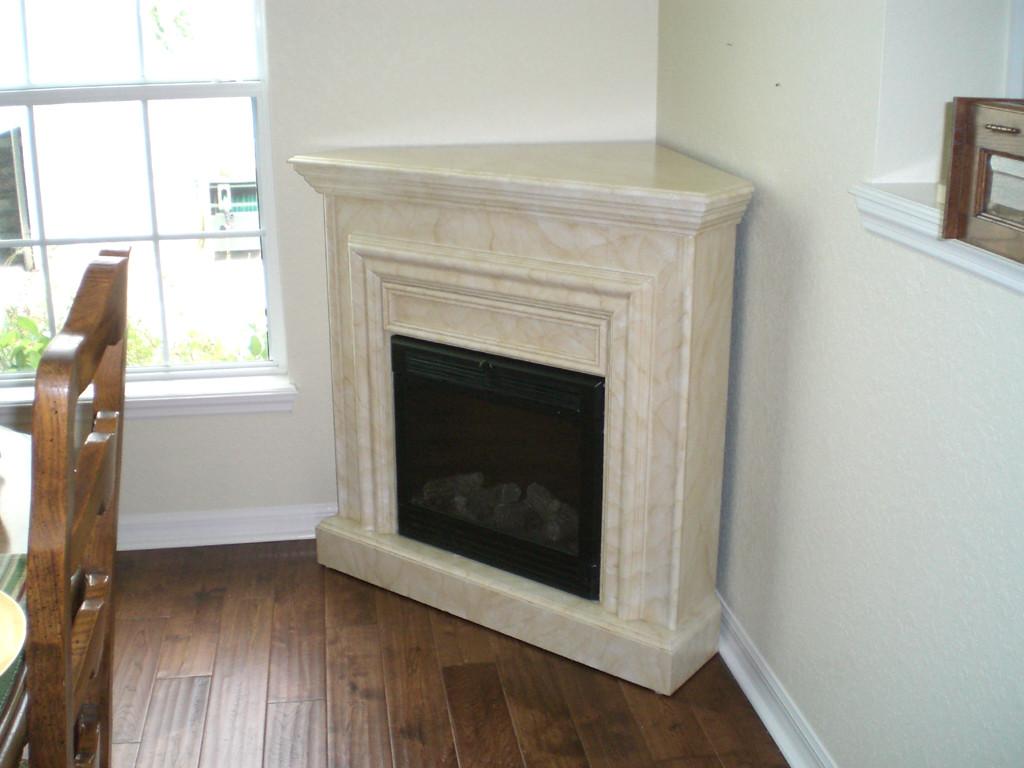 Corner Stone Electric Fireplace