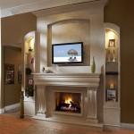 Custom Corner Fireplace Mantels