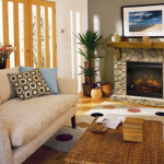 Dimplex Stone Electric Fireplace