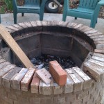 DIY Brick Fire Pit Kit