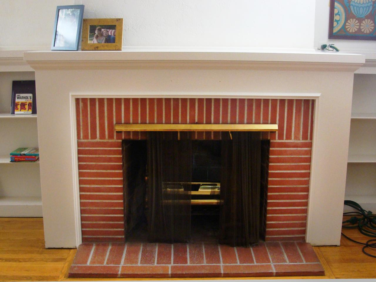 Discussing brick fireplace remodel options fireplace for Fireplace material options