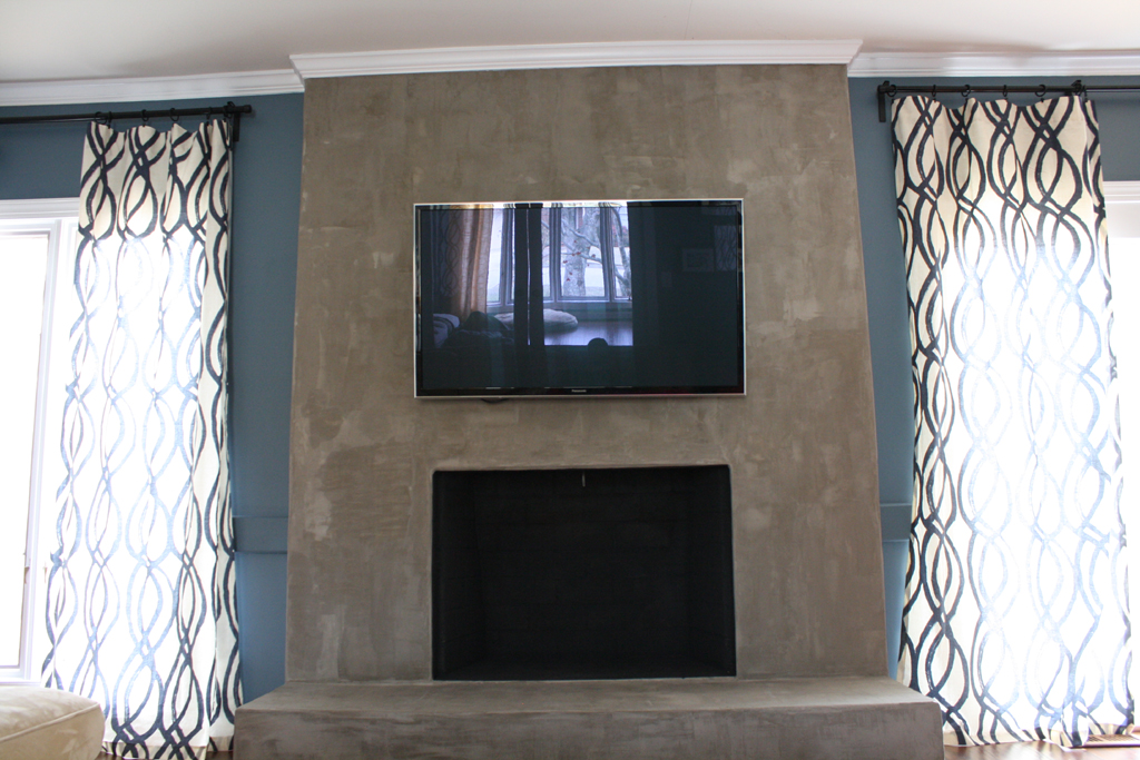 how to build a fireplace surround out of mdf