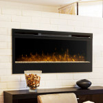 DIY Electric Fireplace Mantel