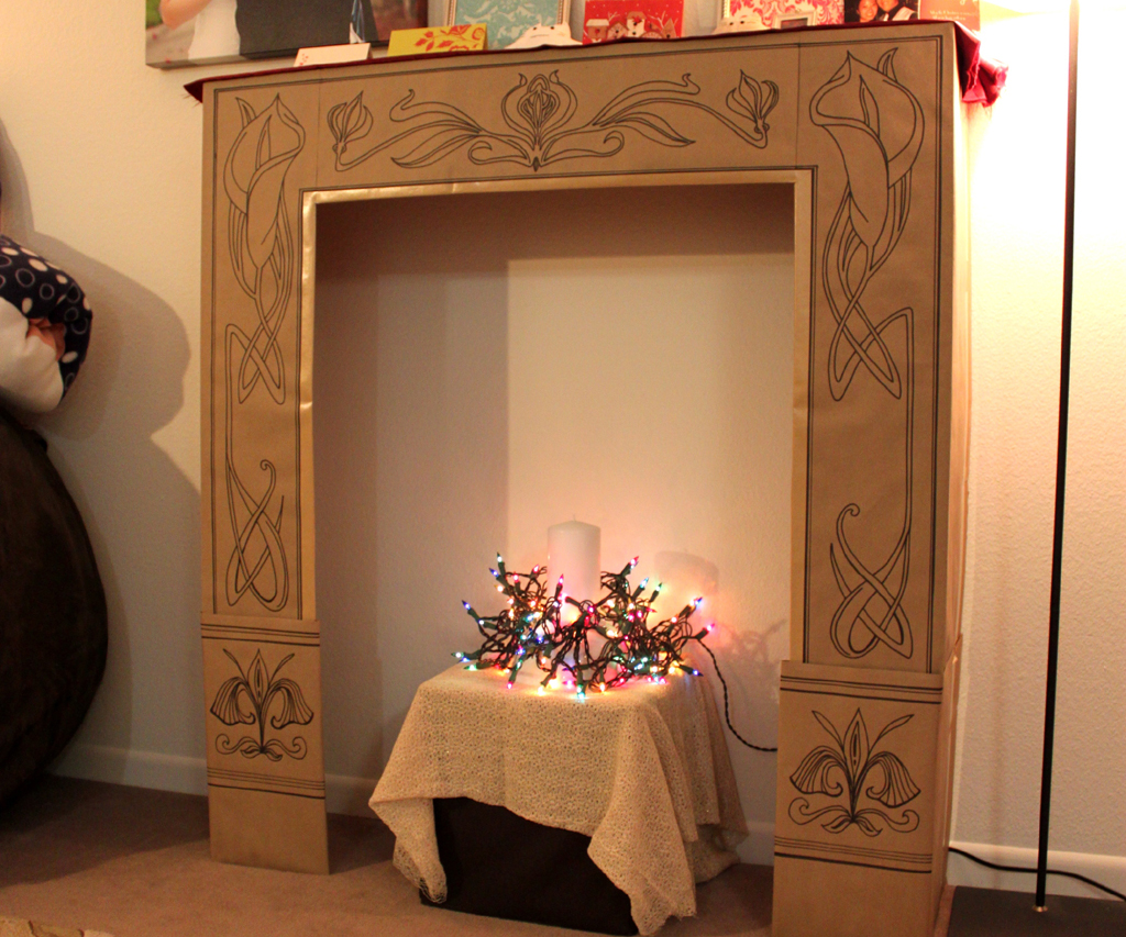 DIY Fake Fireplaces Are All The Trend Now FIREPLACE