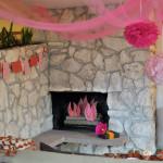DIY Fake Fireplace Logs
