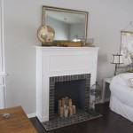 DIY Faux Fireplace Mantel Ideas