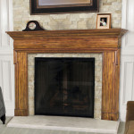 DIY Faux Fireplace Surround