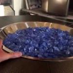 DIY Fire Glass Pit