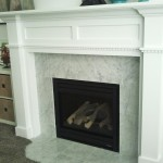 DIY Fireplace Mantel Surround